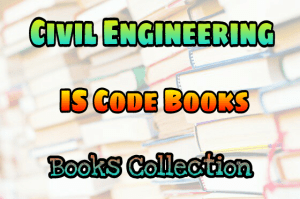 [PDF] Civil Engineering (Indian Standards) IS Code Books Collection Free Download Download Civil Engineering (Indian Standards) IS Code Books - We have compiled a list of Best & Standard Reference Books on Civil Engineering (Indian Standards) IS Code Subject. These books are used by students of top universities, institutes and colleges.