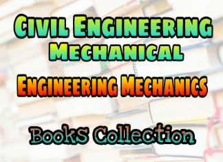 Engineering Mechanics Standard Books – PDF Free Download