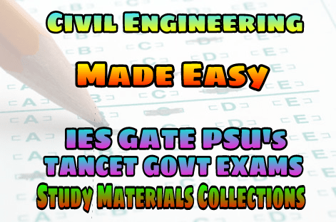 PDF] EasyEngineering Team Civil Engineering IES GATE PSU's