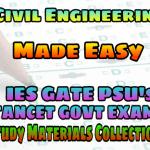 EasyEngineering Team Civil Engineering SSC AE AEE IES GATE PSU's TNPSC TRB TANCET & GOVT EXAMS Study Materials