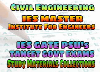 IES Master Institute for Engineering IES, GATE & PSU's Study Materials - FREE DOWNLOAD PDF