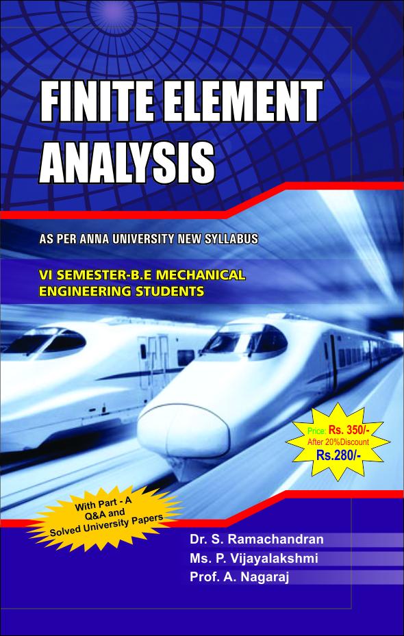 ME6603 Finite Element Analysis