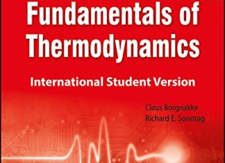 Fundamentals of Thermodynamics, 7th Edition By Claus Borgnakke