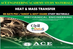 HEAT & MASS TRANSFER ace notes