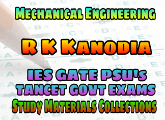 MECHANICAL ENGINEERINGR. K. KANODIAAND ASHISH MUROLIA(NODIA & COMPANY PUBLICATIONS) PREVIOUS YEARS SOLVED MCQ GATE EXAMSSTUDY MATERIALS SUBJECT WISE– PDF FREE DOWNLOAD