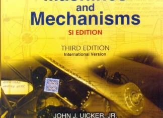 Theory Of Machines And Mechanisms By John J. Uicker, Gordon R. Pennock, Joseph E. Shigley