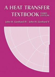 A Heat Transfer Textbook (PDF) By John H Lienhard V, John H Lienhard IV Free Download