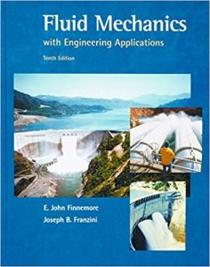 Fluid Mechanics With Engineering Applications Book (PDF) By E. John Finnemore, Joseph B Franzini