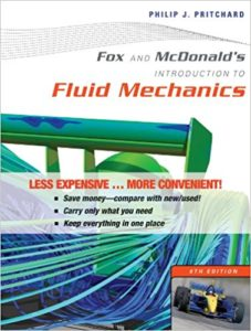 Fox and Mcdonald's Introduction to Fluid Mechanics Book (PDF) By Philip J. Pritchard – PDF Free Download