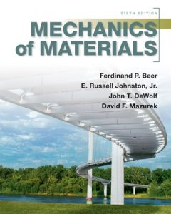 Mechanics of Materials By Ferdinand P. Beer, E. Russell Johnston Jr., John T. Dewolf