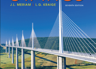 Engineering Mechanics STATICS J.L.Meriam And L.G.Kraige 7th Edition