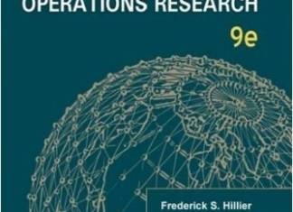 Introduction to Operations Research Book By Frederick K. Hiller, Bodhibrata Nag, Preetam Basu, Geralld J. Lieberman