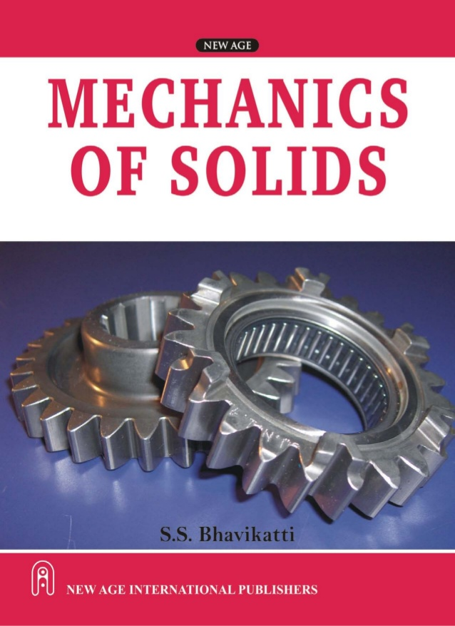 Mechanics of solids Book (PDF) by S.S. Bhavikatti