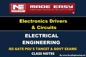 Electronic Devices and Circuits Made Easy IES GATE PSU's TANCET & GOVT Exams Study Material For Electrical Engineering – PDF Free Download