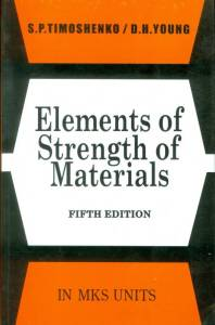 ELEMENTS OF STRENGTH OF MATERIALS BY TIMOSHENKO BOOK