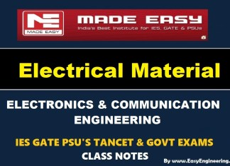 Electrical Material EasyEngineering Team IES GATE PSU's TANCET & GOVT Exams Study Material For Electronics Communication Engineering – PDF Free Download