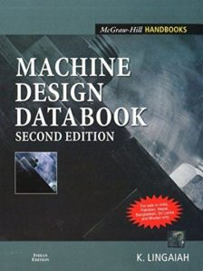 MACHINE DESIGN DATABOOK BY K. LINGAIAH
