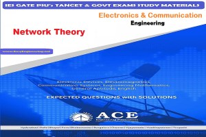 Network Theory Ace Engineering Academy IES GATE PSU's TANCET & GOVT Exams Study Material For Electrical Engineering – PDF Free Download