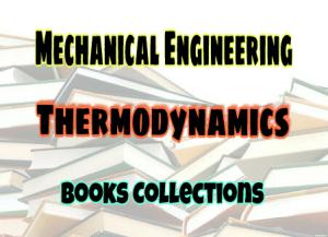 Thermodynamics Standard Books – PDF Free Download
