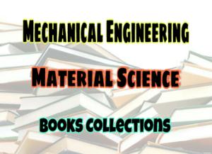 Materials Science Standard Books – PDF Free Download