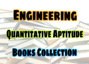 Quantity Aptitude Books Collection – PDF Free Download