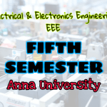 Electrical & Electronic Engineering (EEE) Fourth Semester (4th Semester) Syllabus, Lecture Notes, Important Part B 16marks & Part A 2marks with answers, Books, Question Bank
