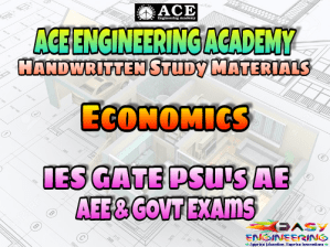 Ace Academy Economics AE AEE National & State Level Exams Handwritten Notes – PDF Free Download