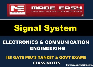 Signal System EasyEngineering Team IES GATE PSU's TANCET & GOVT Exams Study Material For Electronics Communication Engineering – PDF Free Download