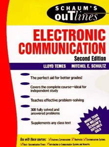 Schaum's Outline of Electronic Communication By Lloyd Temes,‎ Michel E. Schultz – PDF Free Download