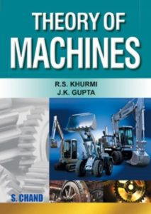 THEORY OF MACHINES BOOK BY R.S. KHURMI