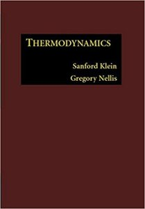 THERMODYNAMICS BY SANFORD KLEIN & GREGORY NELLIS