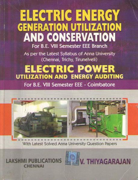ee electrical energy generation utilization  conservation eeguc books lecture