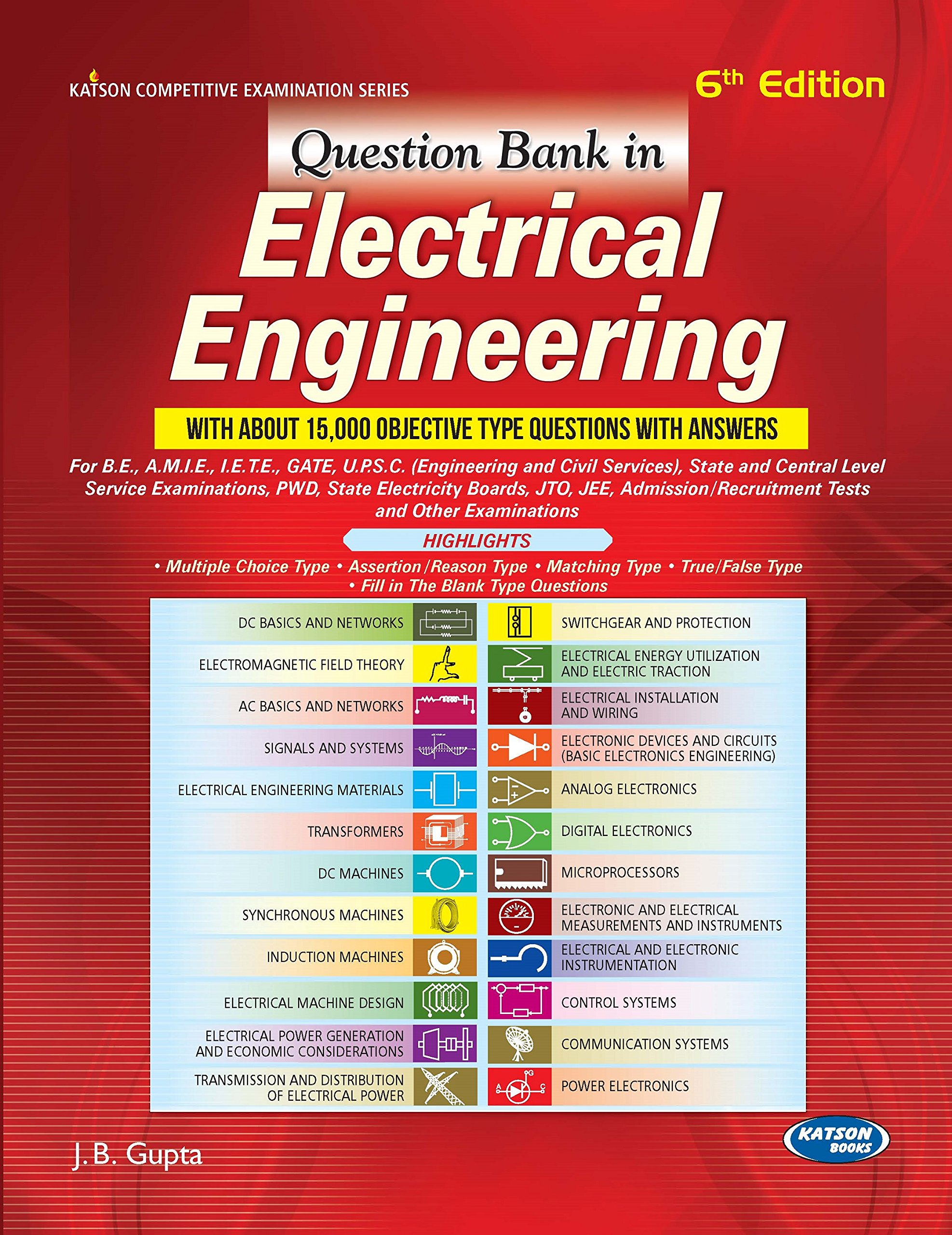 PDF] Question Bank in Electrical Engineering By J B  Gupta