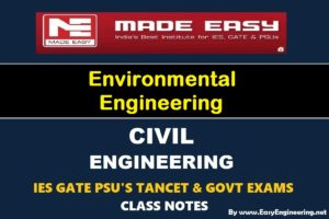 [PDF] EasyEngineering Team Environmental Engineering GATE IES TANCET & GOVT Exams Handwritten Classroom Notes Free Download