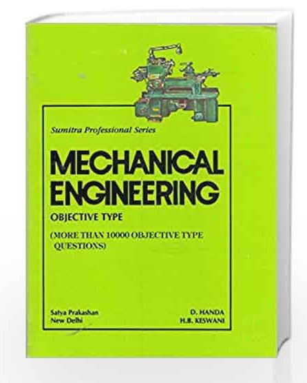 Mechanical Engineering Objective Type Question And Answers Pdf