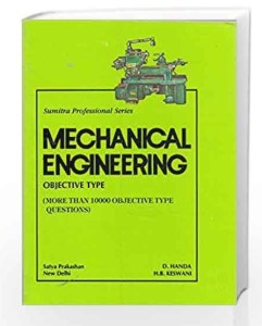 Pdf Mechanical Engineering Objective Type 10000 Objective Questions By D Handa H B Keswani Book Free Download Easyengineering