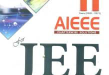 MTG AIEEE for JEE Main: Chapterwise Solutions 11 Years By MTG Editorial Board