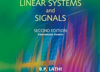 Principles of Linear Systems and Signals By Lathi