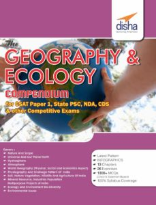 The Geography and Ecology Compendium By Disha Experts