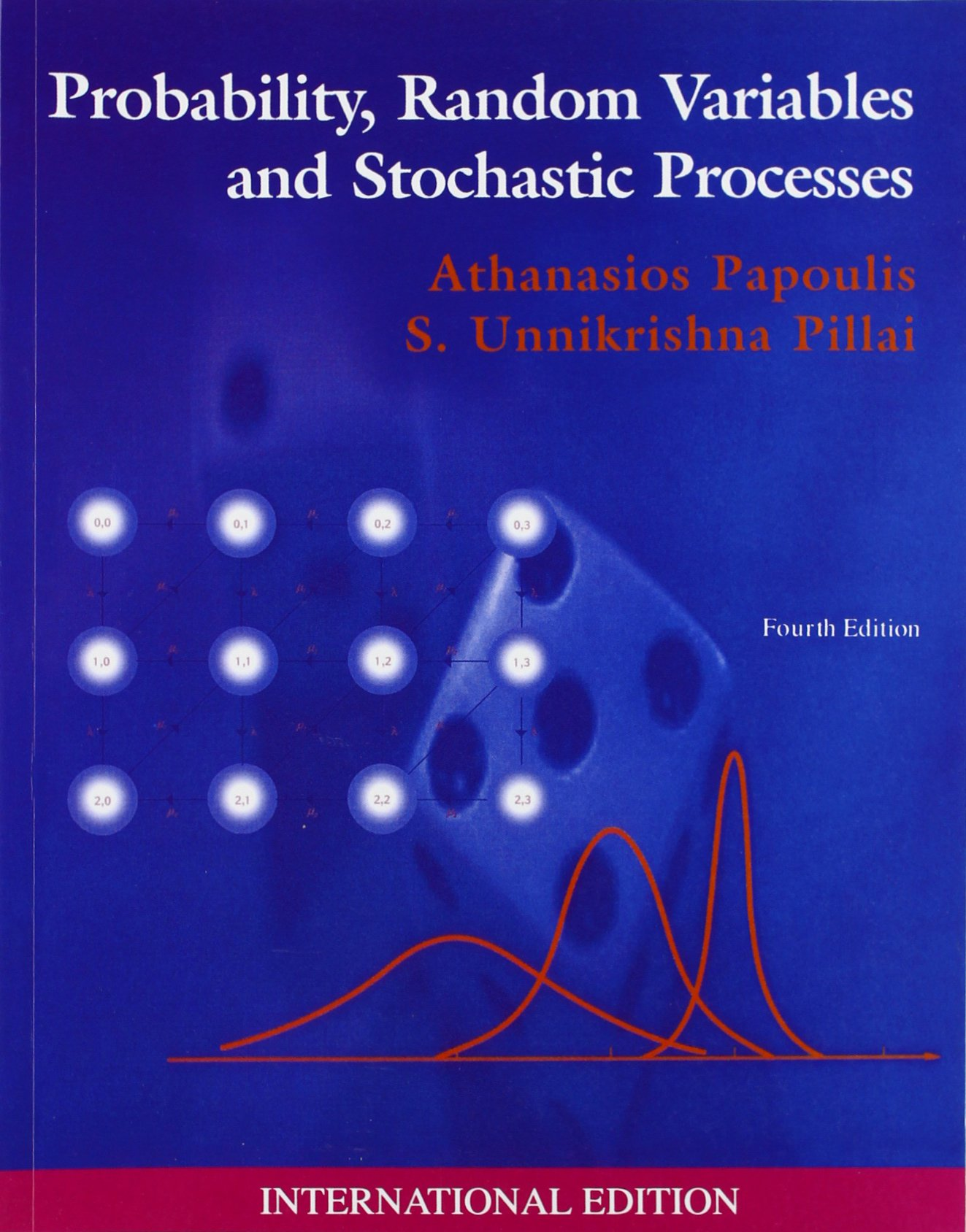 Probability, Random Variables and Stochastic Processes By Athanasios Papoulis, S. Unnikrishna Pillai