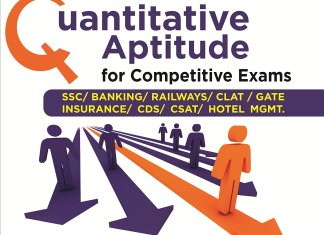 Quantitative Aptitude for Competitive Exams SSC/Banking/CLAT/Hotel Mgmt./Rlwys/CDS/GATE By Disha Experts