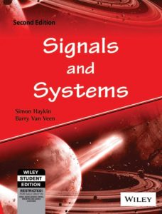 Signals and Systems By Simon Haykin