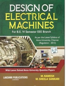 Pdf Ee6604 Design Of Electrical Machines Dem Books Lecture Notes Important Part A 2marks And Part B 16marks With Answers Question Bank Syllabus Easyengineering