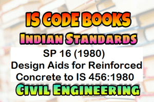 Civil books & question papers: sp16 for is 456:1978 civil code.