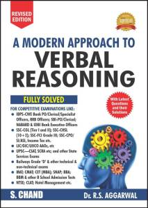 A Modern Approach to Verbal Reasoning (FULLY SOLVED) By R.S. Aggarwal