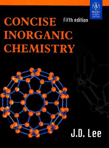 Inorganic Chemistry By Jd Lee Ebook