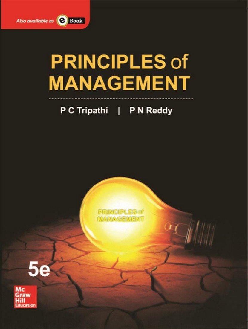 Principle of Management by P.C.Tripathi pdf free Download
