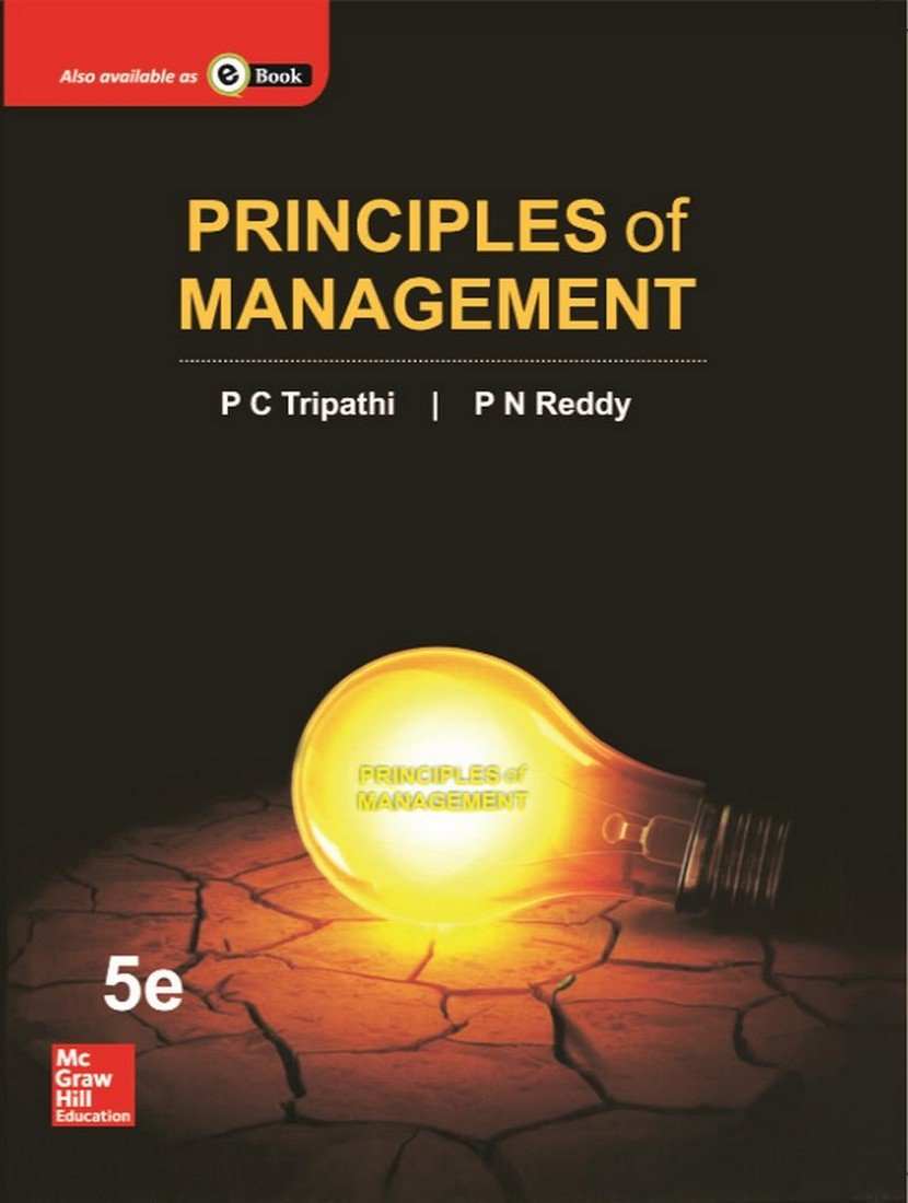 Principle of Management by P.C.Tripathi pdf free Download