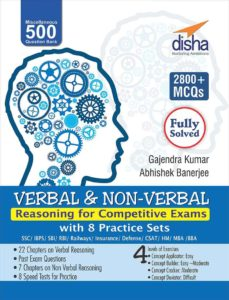 Verbal And Non Verbal Reasoning Books Pdf