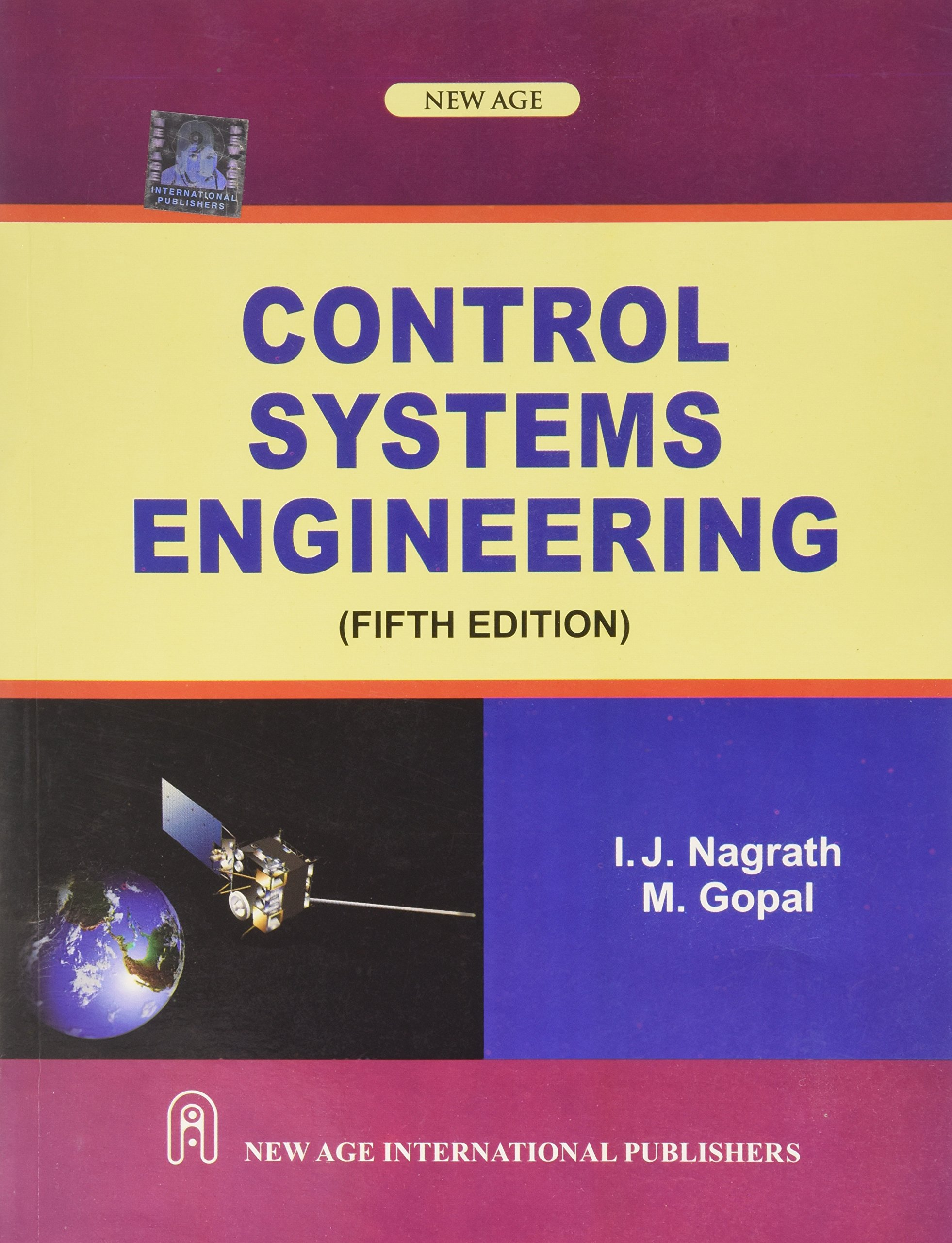 Control systems engineering. By i. J. Nagrath.